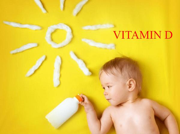 Tắm nắng cho trẻ giúp hấp thu vitamin D, tăng cường canxi
