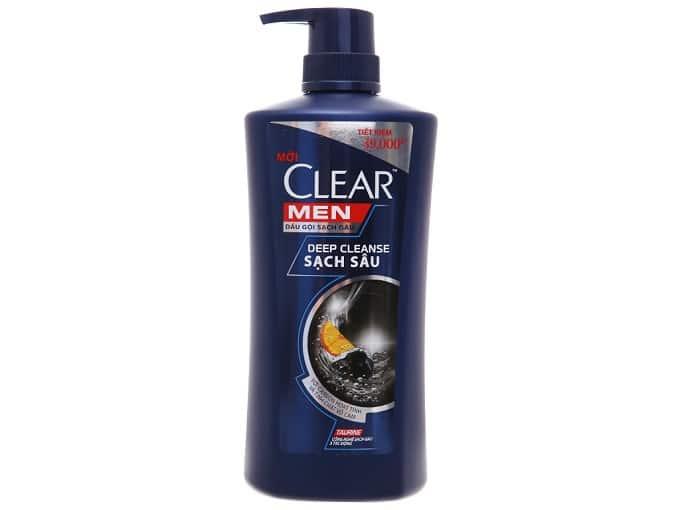Dầu gội Clear Men 650g