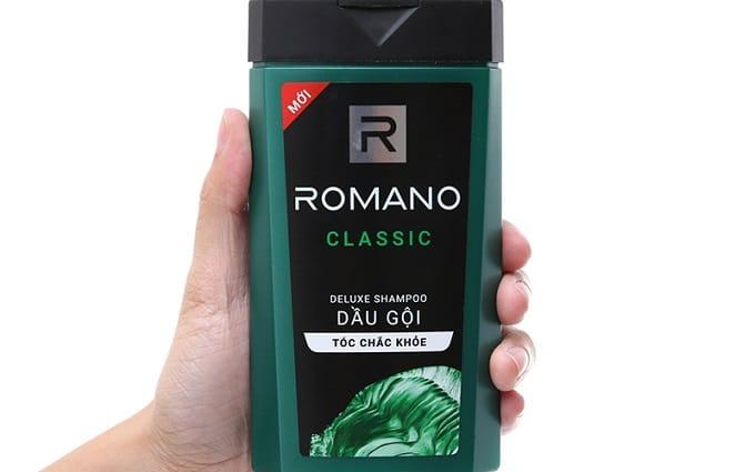 Dầu gội trị gàu Romano Classic Anti-Dandruff Shampoo