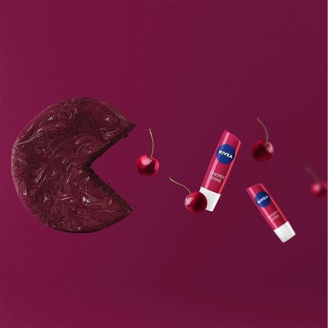 Son dưỡng môi Nivea Fruity Shine Cherry