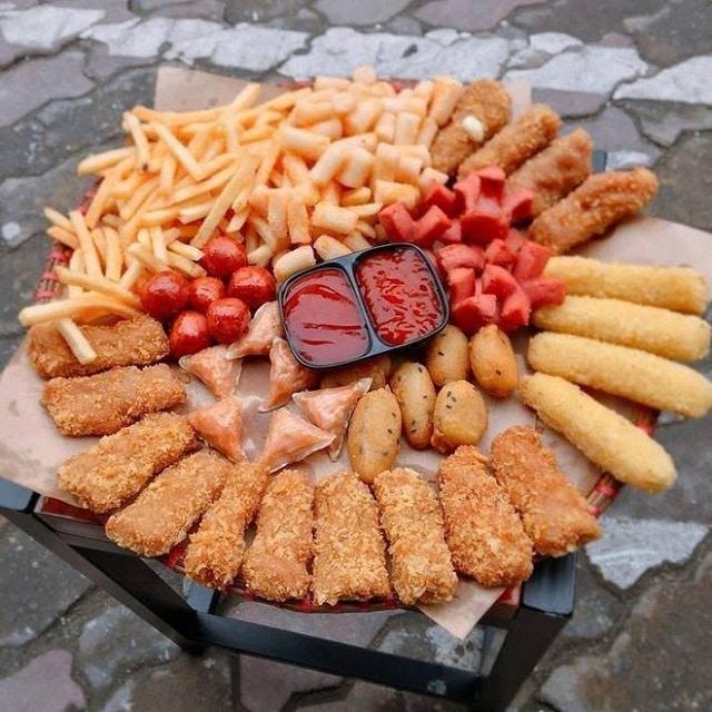 Đồ ăn vặt là thủ phạm gây nên hiện tượng mỡ bụng