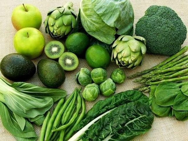 Rau xanh là thực phẩm không thể thiếu đối với người cao huyết áp