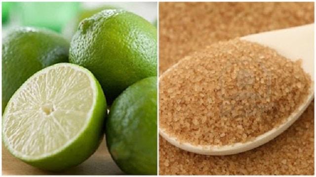 Chanh và đường nâu là công thức tẩy tế bào chết được nhiều người tin tưởng.