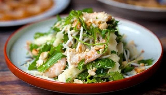 Salad củ đậu bổ sung nhiều dưỡng chất