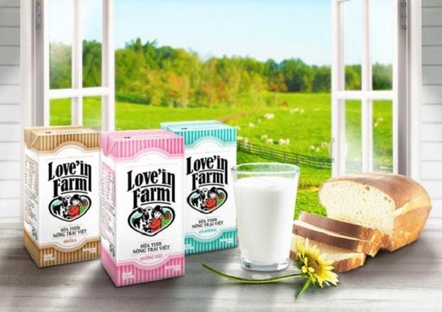 Sữa tươi Love'in Farm