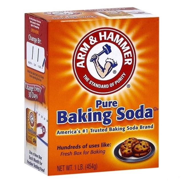 Sử dụng baking soda để trị mụn