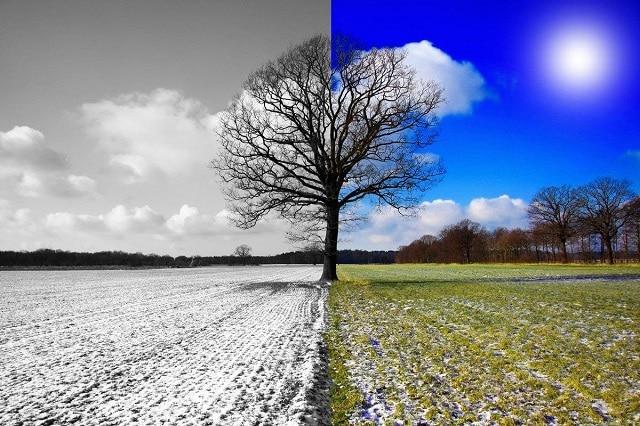 Dị ứng thời tiết do thay đổi thời tiết đột ngột khi cơ thể chưa kịp phản ứng