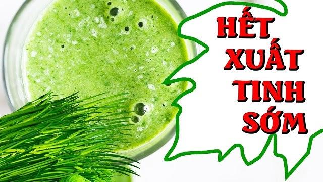 Trong lá hẹ có chứa rất nhiều dưỡng chất giúp kiểm soát quá trình cương dương