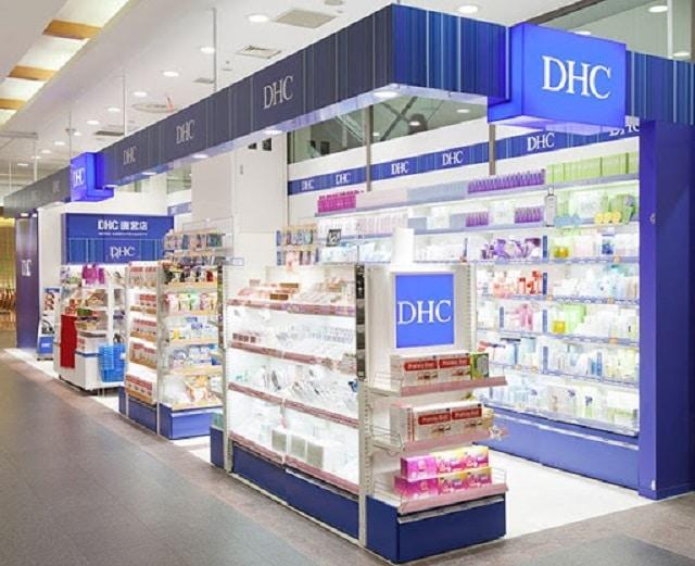 DHC là thương hiệu dược mỹ phẩm nổi tiếng của Nhật Bản
