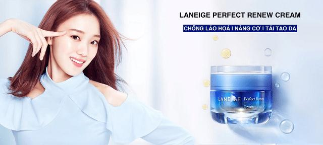 Kem chống lão hóa Laneige rất tốt cho làn da với thành phần lành tính và chất kem thấm nhanh