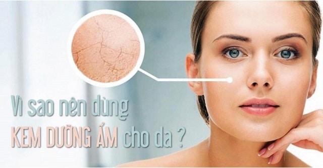 Sử dụng kem dưỡng ẩm cho da mang lại nhiều lợi ích tốt cho da