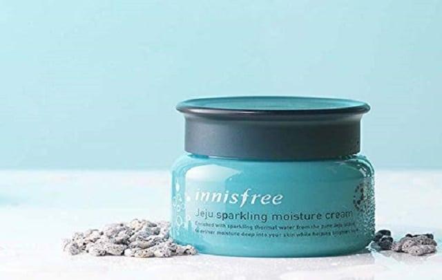 Kem dưỡng ẩm Innisfree Jeju Sparkling Moisture Cream dành cho da dầu