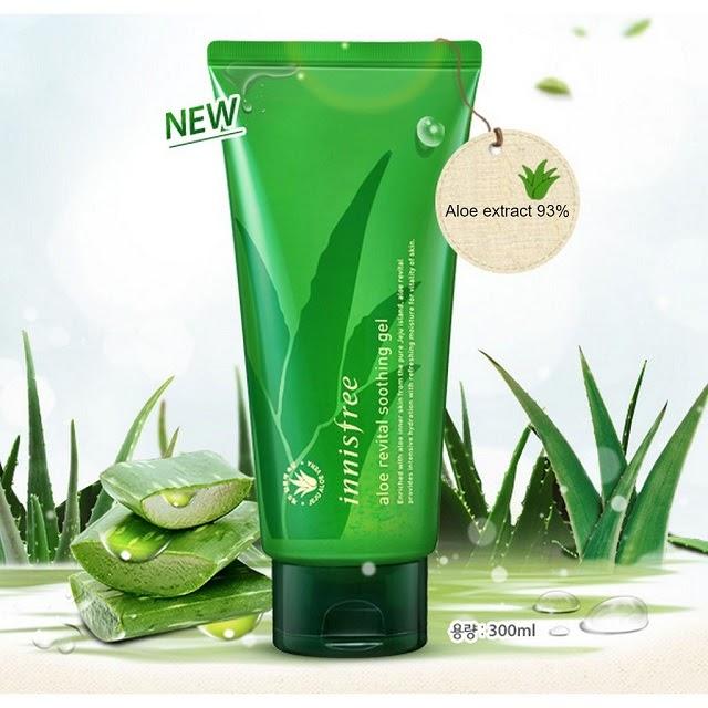 Gel dưỡng ẩm Innisfree Aloe Revital Soothing Gel