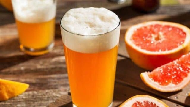 Tắm trắng bia kết hợp với cam