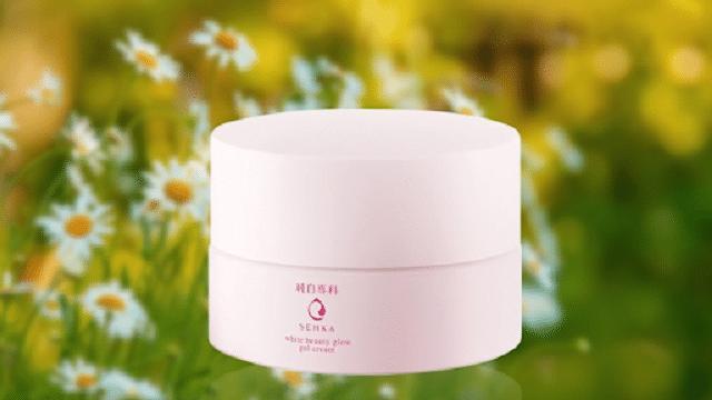 Kem dưỡng ban đêm Senka White Beauty Glow Gel Cream có thành phần tự nhiên an toàn và lành tính