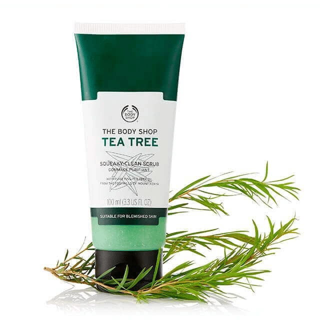 The Body Shop Tea Tree 3-in-1 Scrub