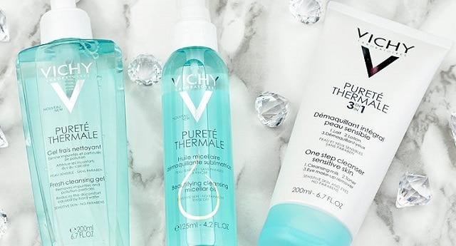 Vichy - dòng sữa rửa mặt hiệu quả dành cho da dầu