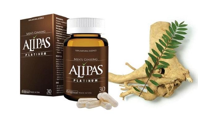 Sâm Alipas giúp tăng cường sinh lý nam