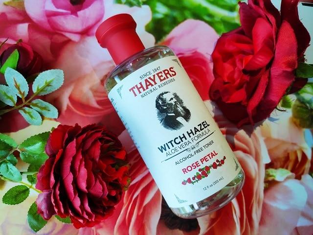 Nước hoa hồng Thayer Rose Petal không chứa cồn, an toàn cho da