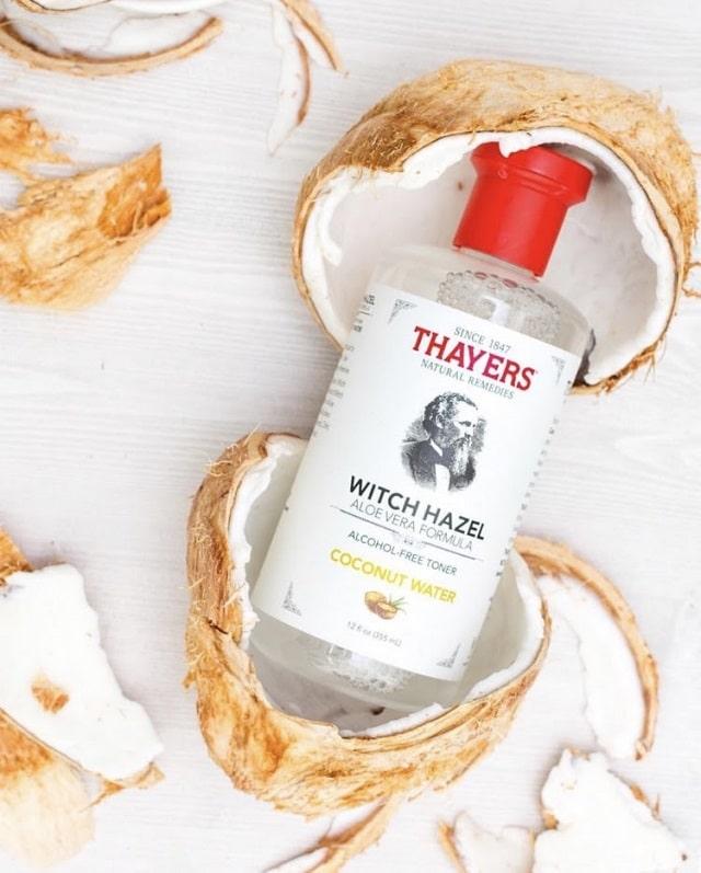 Nước hoa hồng Thayer Coconut Water cấp và dưỡng ẩm cho da