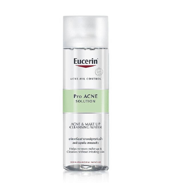 Nước tẩy trang Eucerin Pro Acne Solution Acne & Make up Cleansing Water