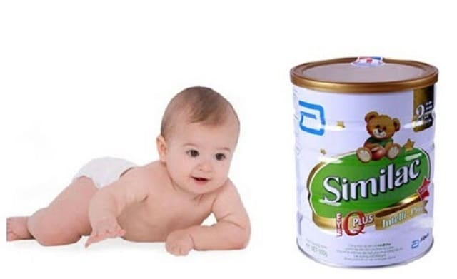Bé uống sữa similac có bị táo bón không