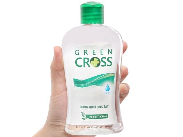 Nước rửa tay Green Cross