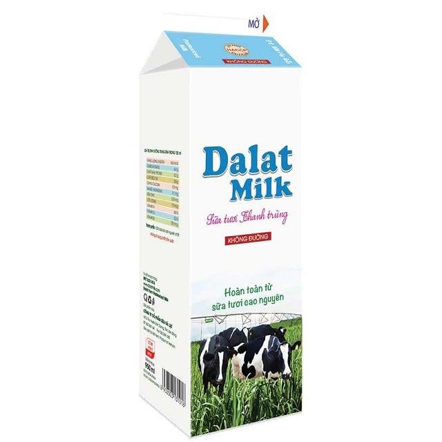 Bà bầu uống sữa tươi không đường