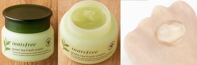Kem dưỡng ẩm Innisfree Green Tea Fresh Cream