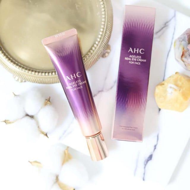 Kem dưỡng mắt chống nhăn AHC Ageless Real Eye Cream For Face