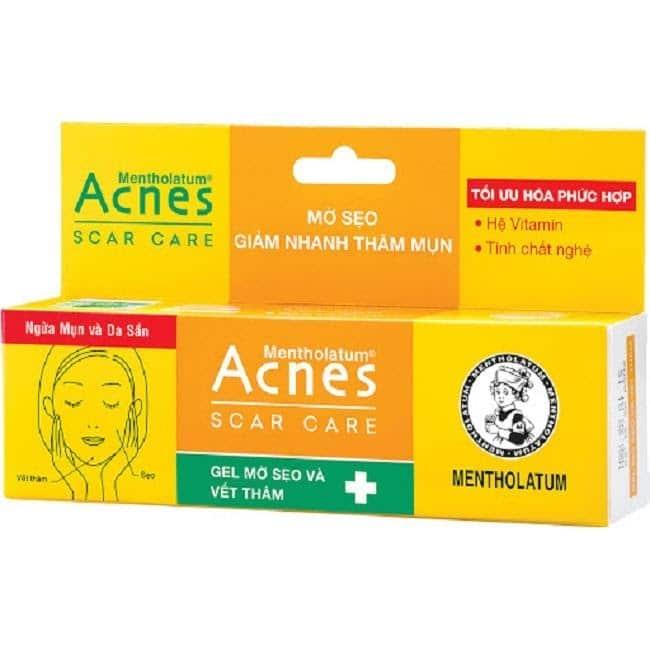 Kem Acnes có khả năng giảm mụn, làm mờ vết thâm