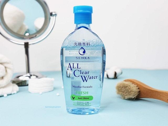 Nước tẩy trang cho da dầu