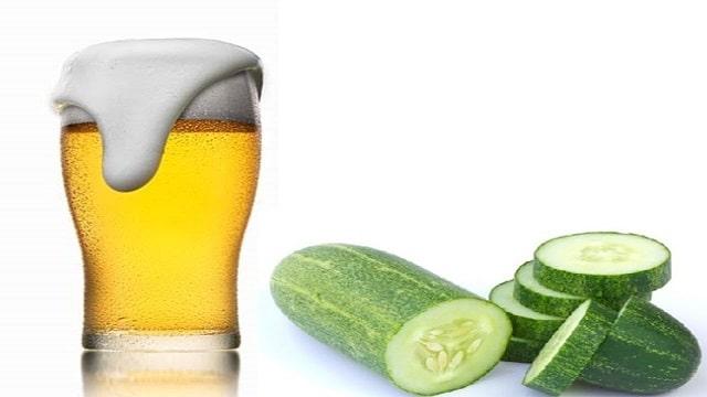 Cách tắm trắng bằng bia